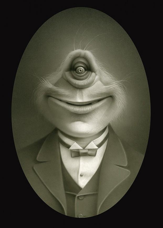 Vintage Creature Portraits
