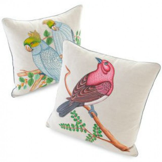 Beautiful Bird Cushions
